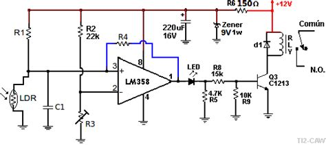 Lm 358 Lm358 Lm358n Lm 358n Laris inexperto en opams