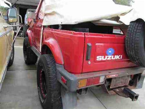 Suzuki Samurai Fuel Injection Buy New 1991 Suzuki Samurai Fuel Injection 4x4 In