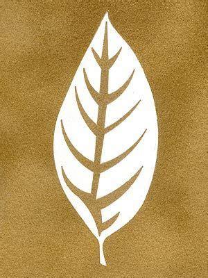 Gold Leaf Stencil Templates