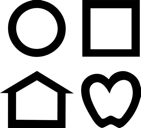 printable lea symbols eye chart lea symbols