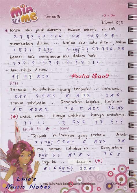 cara membuat not angka lagu sendiri not angka iqbaal cjr terbaik lhia s music notes