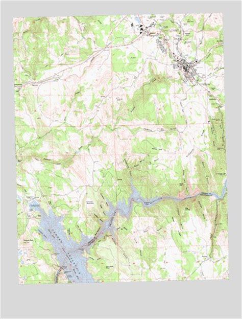 jackson california map jackson ca topographic map topoquest