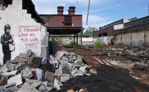 banksy hits detroits packard plant  remember