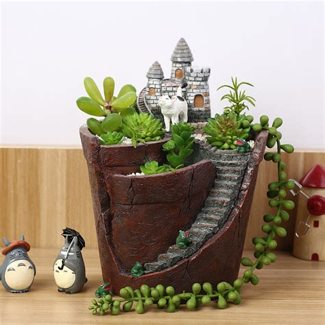 Buy Garden Pots by Online Buy Wholesale Resin Garden Pots From China Resin