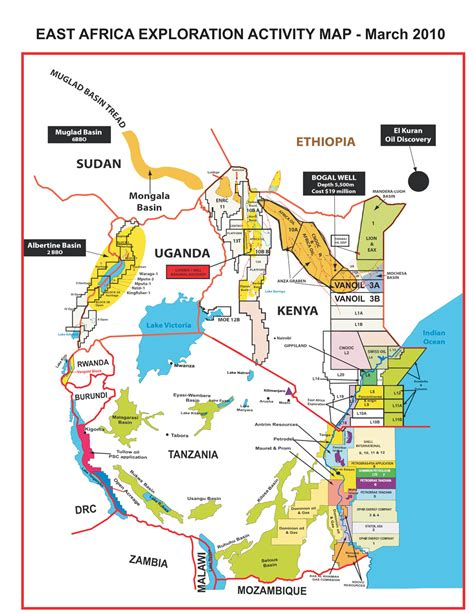 africa map activity how can tanzania east africa manage petroleum revenues