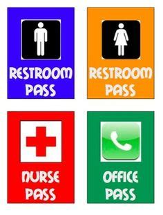 bathroom pass ideas 1000 ideas about hall pass on pinterest classroom