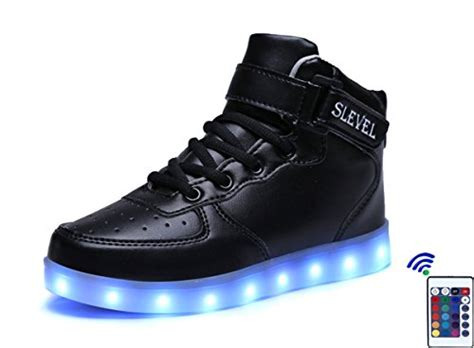 shoes that light up for boys slevel 16 colors led light up shoes usb sneakers
