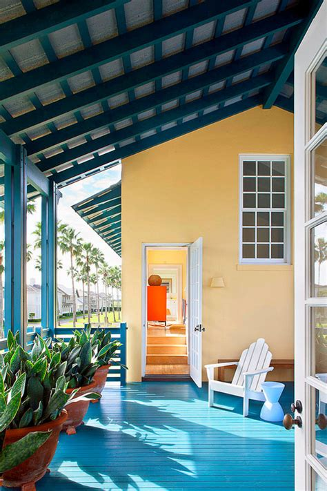 deck painting ideas  colorfully painted decks  porches