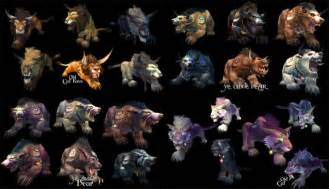 worgen druid colors related keywords suggestions