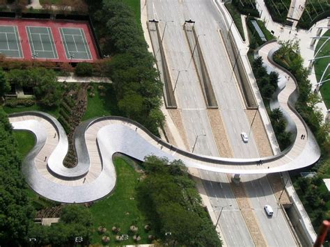 bridge in millennium park modern desert homes
