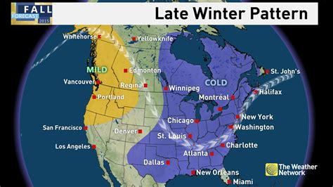 a weather pattern you can expect is news winter preview see when cold and snow arrive for