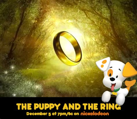 guppies the puppy and the ring middle earth news nick jr s the puppy and the ring