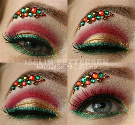 17 best ideas about christmas makeup on pinterest