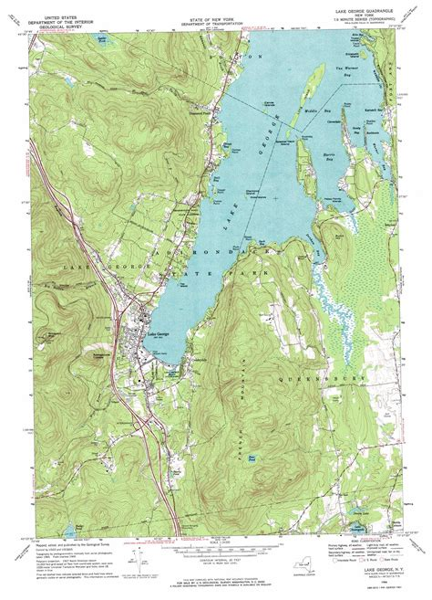lake george colorado map lake george topographic map ny usgs topo 43073d6