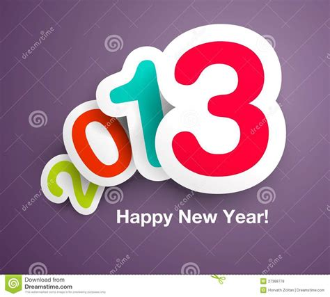 design free new year card new year s vector card design royalty free stock photos