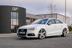 audi a3 sedan gets tweaked by df automotive