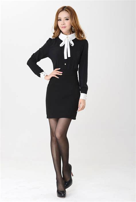 Dasi Hitam Panjang Ospek kemeja wanita kantoran lengan panjang model terbaru jual murah import kerja