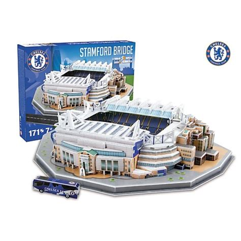 Diskon Puzzle Miniatur Stadion Stamford Bridge Chelsea trefl puzzle 3d stadion stamford bridge chelsea sklep zabawkowy kimland pl