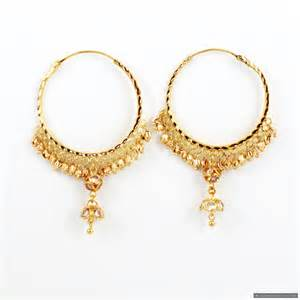 hoops earrings india 22ct indian gold hoop earrings 163 639 07 earrings indian jewellery gold jewellery a1