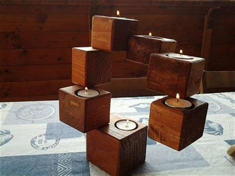 Old Wood Chairs Pallet Wood Candle Holders Pallet Wood Projects
