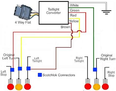 wiring diagram 4 pin 5 wire trailer wiring diagram 5 wire