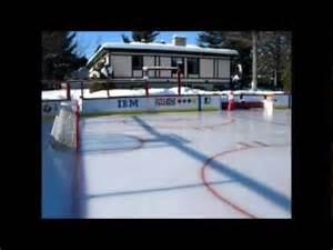 Backyard Hockey - best backyard rink in qu 233 bec canada youtube