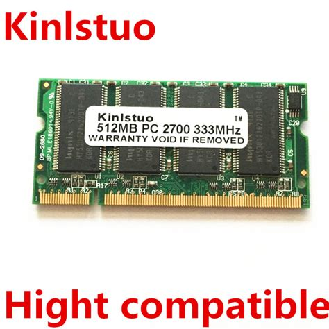 Ram Komputer 512 Mb by Free Shipping 512mb Pc2700 Pc2700s Ddr Pc 2700 333mhz Cl2