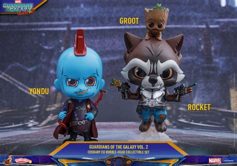 hot toys yondu for sale guardians of the galaxy vol 2 cosbabies series 2 figures