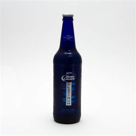 Bud Light Platinum Bottle by Bud Light Platinum 22oz Bottle Wine And Liquor Delivered To Your Door 1 Hour