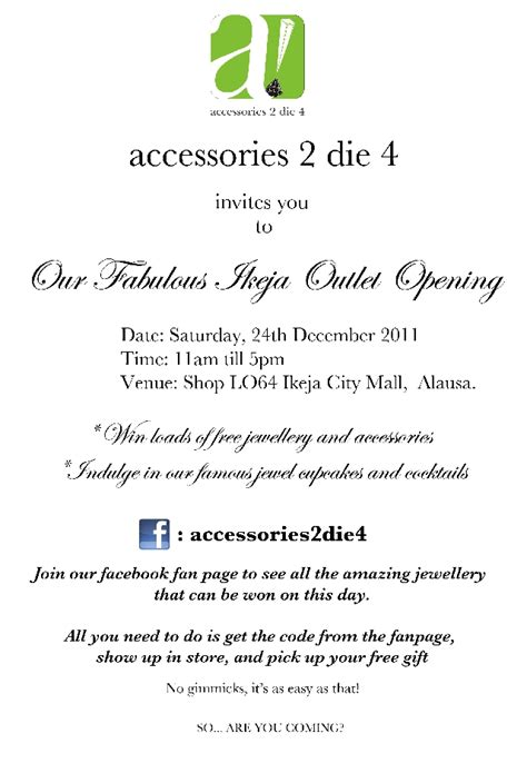 new shop opening invitation accessories2die4 unveils christmas caign shots