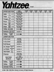 yahtzee downloadable score sheet shop talk marketing