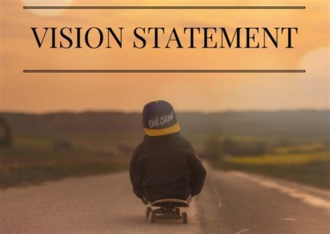 vision statement template free vision statement word template free