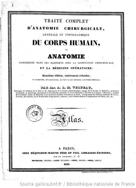 Traité complet d'anatomie chirurgicale, générale et