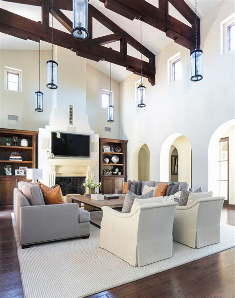 spanish living room design peenmedia com project shady canyon reveal