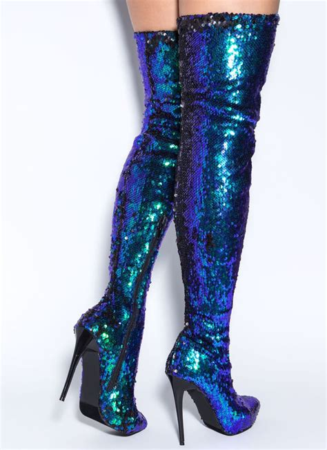thigh high slippers sequins of events thigh high boots gojane boots