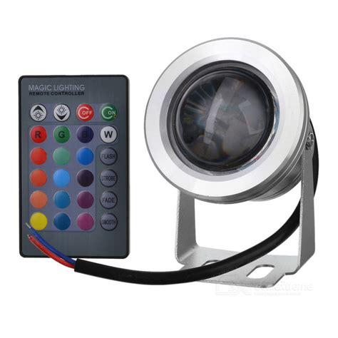 rgb light 12v jr 10w rgb 12v 10w 390lm waterproof rgb led light