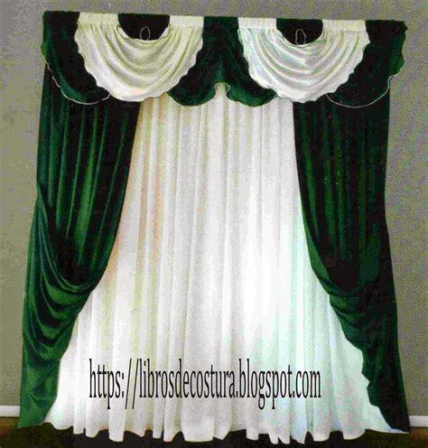 cenefas de cortinas modernas libros de costura como hacer cortinas paso a paso