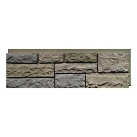 nextstone random rock tri buff 15 5 in x 48 in faux