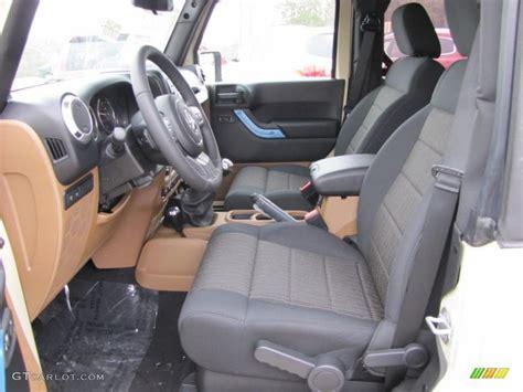black saddle interior 2011 jeep wrangler rubicon 4x4