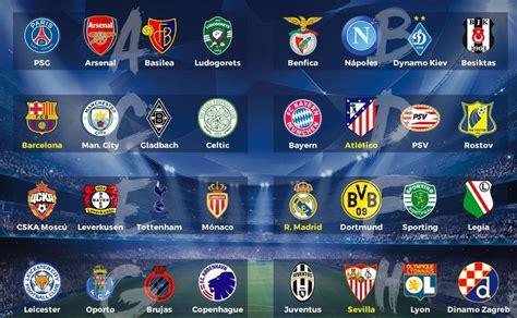 Arsenal Calendario Sorteo De La Fase De Grupos De La Uefa Chions League
