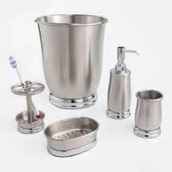 Brushed Nickel Bathroom Accessories Sets Bathroom Accessories Sets Brushed Nickel Design A House Interior Exterior