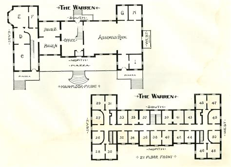 the warren floor plan the warren hotel north granville ny floor plan 1