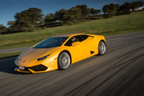 yellow lamborghini front 2015 lamborghini huracan lp 610 4 yellow front three