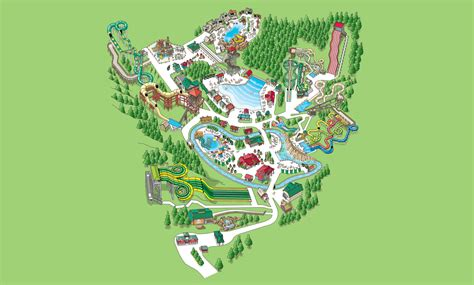dollywood map water park map