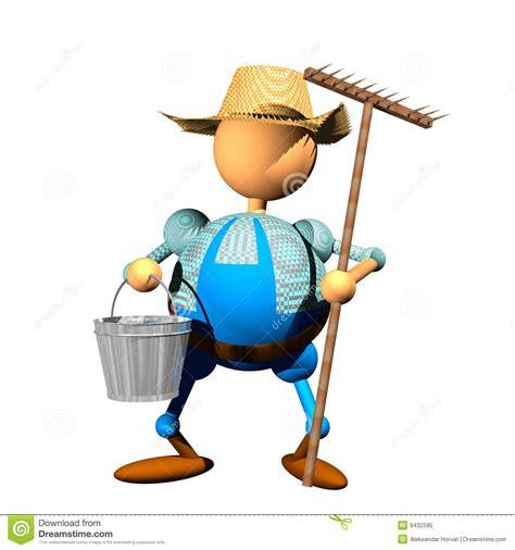 clipart photo farmer clipart royalty free stock photo image 9432595