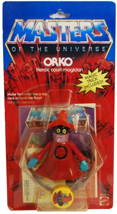 masters of the universe vintage card template orko masters of the universe