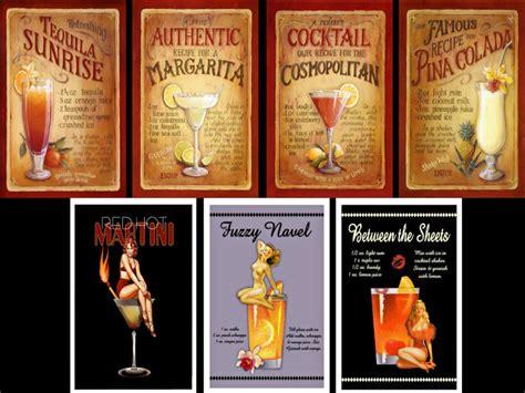 vintage cocktail poster simshound s vintage cocktails poster pack