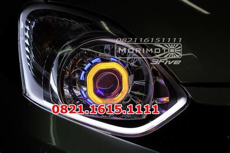 Lu Hid Warna Putih jual headl custom agya ayla led audi line bisa pilih warna hid mobil morimoto