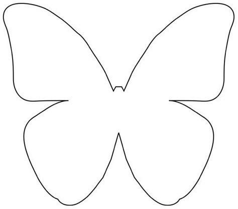 butterfly template butterfly template templates patterns