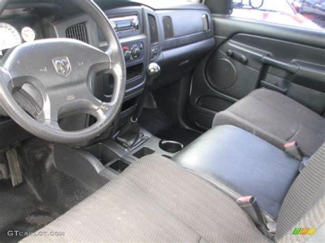 slate gray interior 2002 dodge ram 1500 st regular